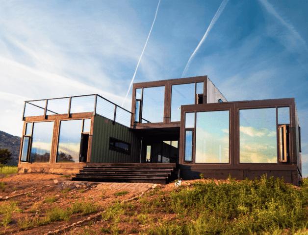 15 fachadas bien diseñados de casas prefabricadas contenedores de carga