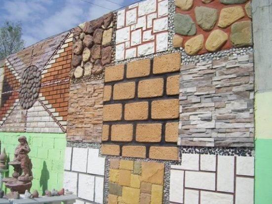 diferentes soluciones para fachadas rústicas con ladrillos