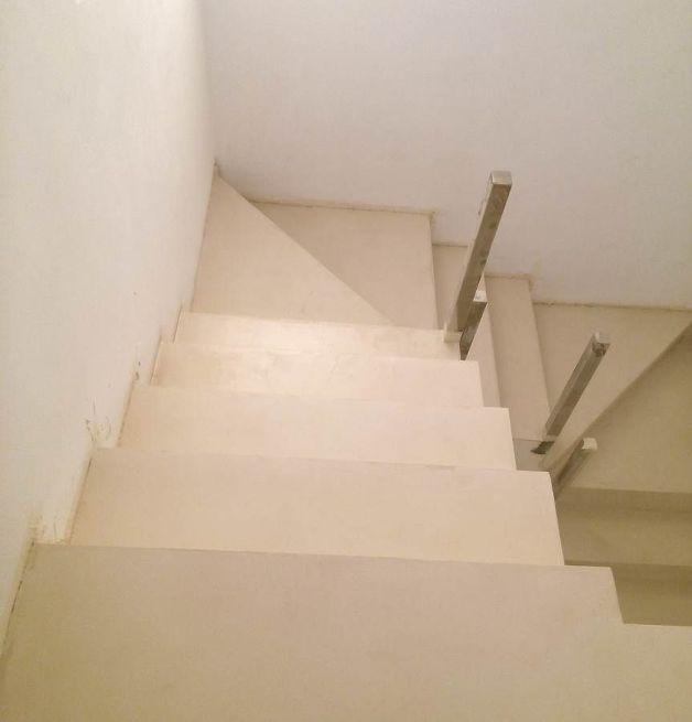 escaleras de microcemento