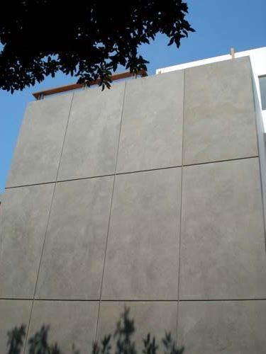Revestimiento para Fachadas con microcemento