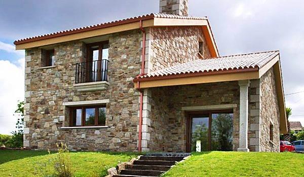 fachadas rústicas con ladrillos