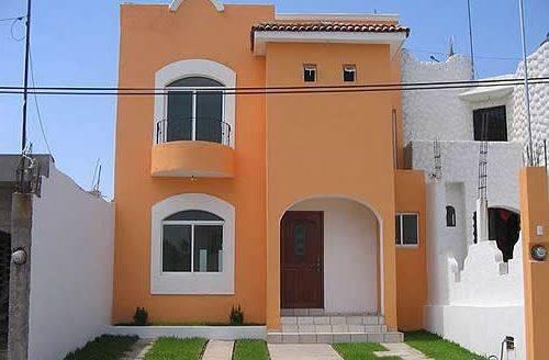 Pinturas para revestimientos de fachadas exteriores for Colores para pintar fachadas de casas pequenas