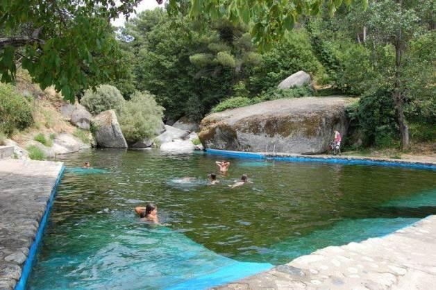 piscina natural No es un medio estéril, hay bacterias en equilibrio ecológico
