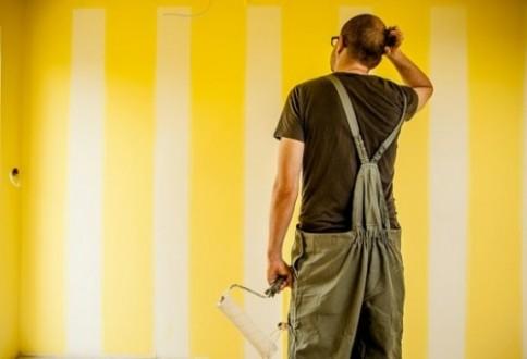 Cómo pintar paredes y techos de pladur