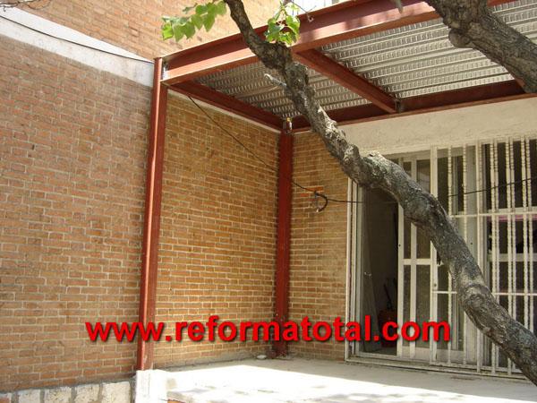 Dise o reforma total en madrid empresa de reformas y - Estructura metalicas para casas ...