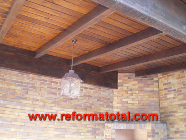 046 09 fotos techos rusticos reforma total en madrid empresa de reformas y obras integrales - Techos rusticos ...