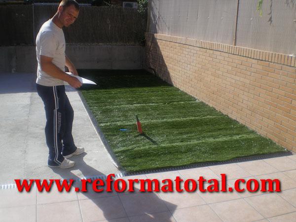 055-11-Imagenes Colocar Cesped Sintetico | Reforma Total en Madrid ...