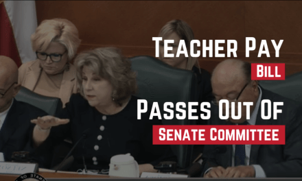Senate Teacher Pay Bill Passes out of Contentious Committee Hearing