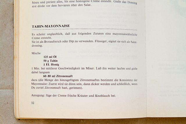 Seite 32: Rezept aus dem Kochbuch »Essen mit Leib und Seele«