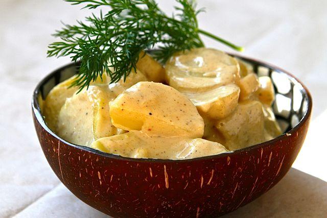 Nomnom: Kartoffelsalat mit veganer Mayonnaise