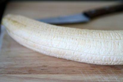 Noch unreif, umso stärkehaltiger: Kochbanane
