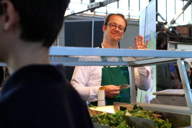 Arne-Matz Ramcke ist bei Blattfrisch für die Produktion zuständig