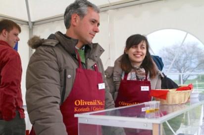 Olivier Dimitrios Simanos und Maria Skourti (?) aus Korinth