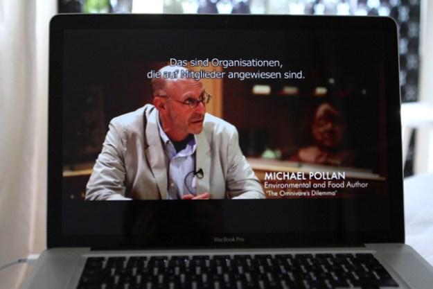 Michael Pollan, einflussreicher US Food-Journalist und Buchautor, im Interview