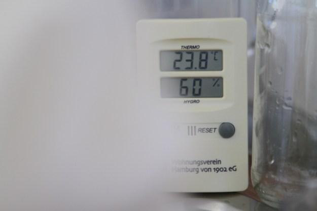 Sind 22,7 °C oder 24,3 ° C die perfekte Temperatur zum fermentieren? Auch so ein hitzig diskutiertes Thema im Internet...