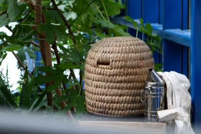 Korb von der Altländer Honigmanufaktur von Michael Bauer