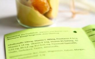 Lupinenjoghurt: Mit Sanddornextrakt angereichert und mit Agavendicksaft gesüsst als köstliches Dessert