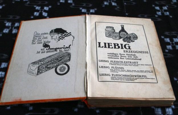 1927 - in den Kochbüchern wird massiv geworben