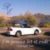 I'm gonna let it ride