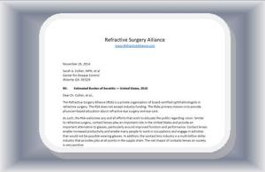 RSA Response to CDC Study about Keratitis and Contact Lenses - November 2014 Keratitis
