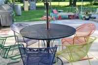 How to Paint Metal Lawn Furniture - Refresh Living