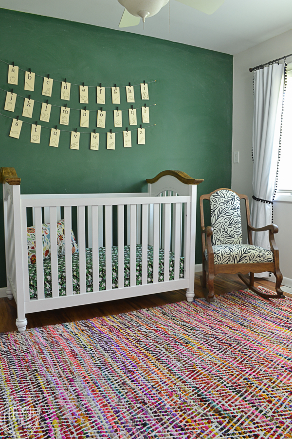 perfect green paint for living room indian showcase designs vintage schoolroom nursery with a modern twist - refresh ...
