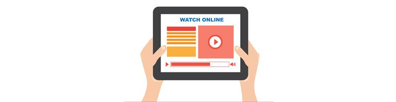 Video Marketing on Tablet