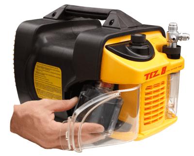 tez vacuum pump 8 cfm