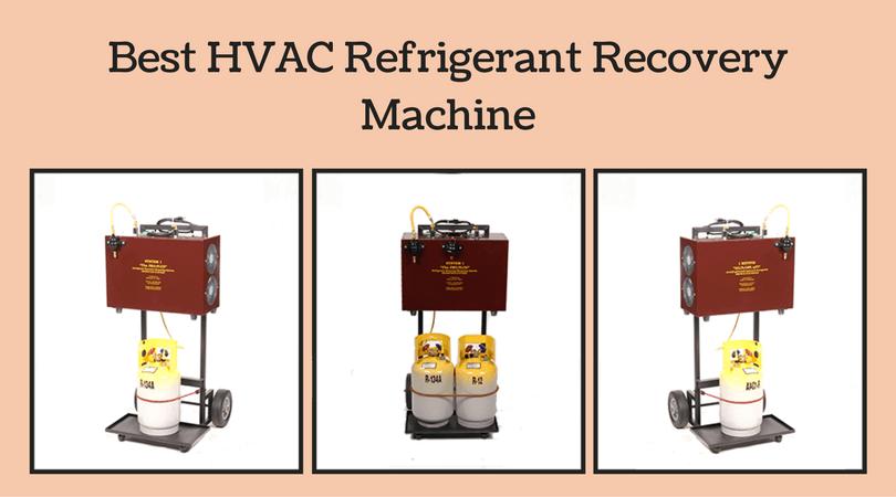 best refrigerant recovery machine
