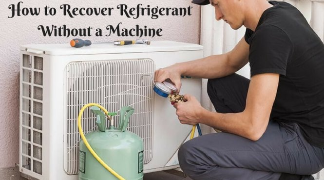 how to put freon in a home air conditioner