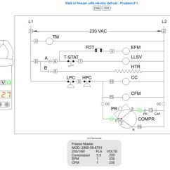 Lg Double Door Refrigerator Wiring Diagram Molecular Orbital For Cl2 Basic Refrigeration Electrical Schematic - Diagrams Image Free Gmaili.net