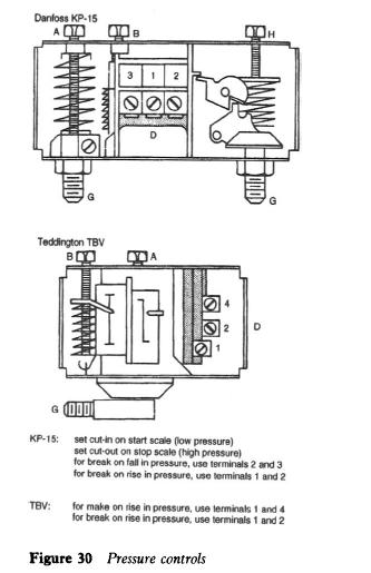 ranco oil pressure switch wiring diagram