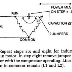Refrigerator Compressor Wiring Diagram How To Do Uml Diagrams Locked Rotor Test Capacitors Compressors 2