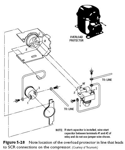 Wiring Diagram: 27 Refrigerator Compressor Parts Diagram