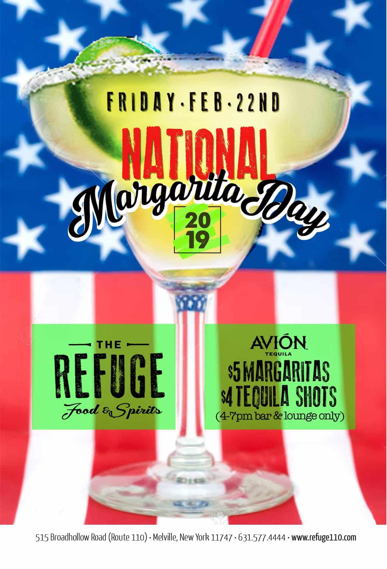 National Margarita Day - The Refuge