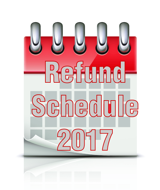Virginia Income Tax Calculator >> 2017 Refund Cycle Chart and 2017 Refund Calculator now available - Online Refund Status