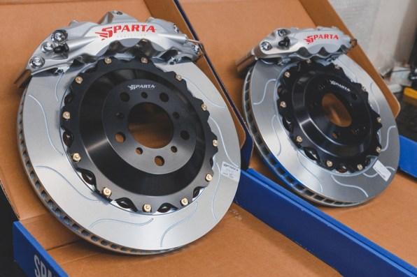 IMG_4437 Big Brake Kit for E92 M3 MK7 Golf R Sparta Evolution Triton R