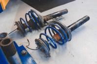 IMG_7238 Porsche 911 Turbo Bilstein Damptronic Installation