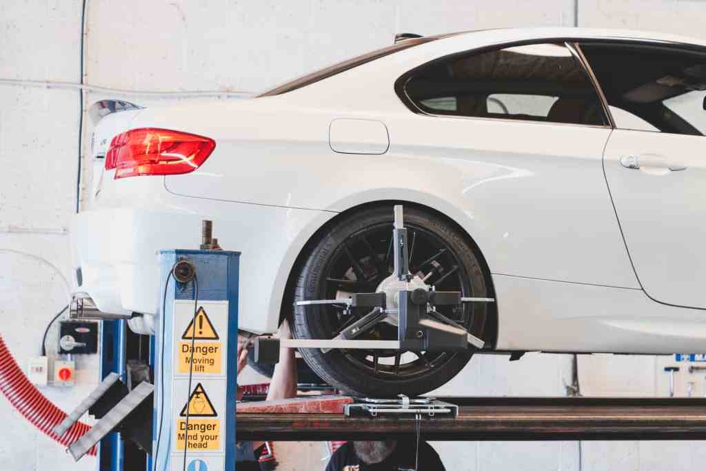 BMW Wheel Alignment and Geometry Setup