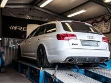 Audi S6 Rolling Road Dyno