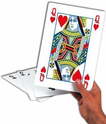 Cartas Gigantes de Poker