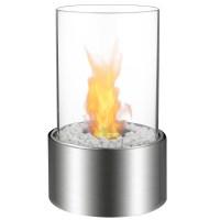 Eden Ventless Tabletop Portable Bio Ethanol Fireplace in ...