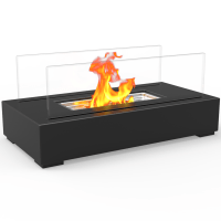 Utopia Ventless Tabletop Portable Bio Ethanol Fireplace in ...