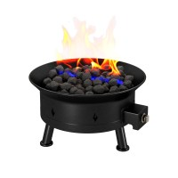 Camp Mate XL 58,000 BTU Portable Propane Outdoor Fire Pit