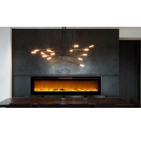 Astoria 60 Inch Built-in Ventless Heater Recessed Wall ...