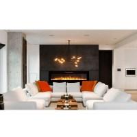 Astoria 60 Inch Built-in Ventless Heater Recessed Wall ...