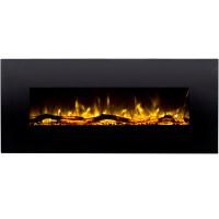 Ashford 50 Inch Black Ventless Heater Electric Wall ...