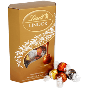 Lindt Lindor Irresistably Smooth Assorted 200g and 337g