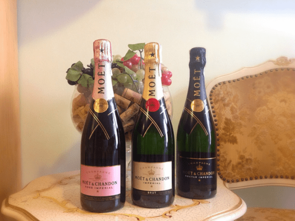 Moet & Chandon Rose Imperial Sparkling Wine Champagne, France