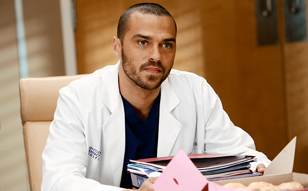 Grey's Anatomy Jackson Avery Jesse Williams Flowers